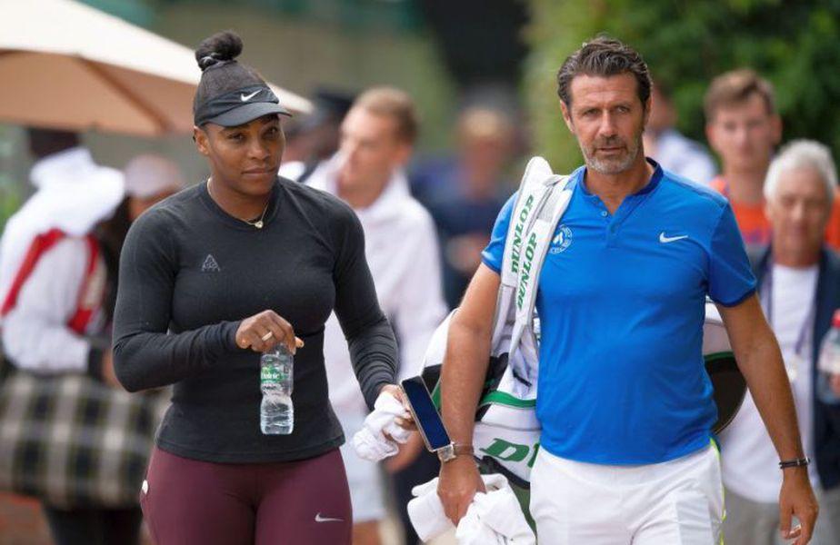 Patrick Mouratoglou și Serena Williams // foto: Guliver/Getty Images